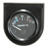 2Inch 52mm Universal Car Pointer Water Temperature Temp Gauge 40-120℃ White LED