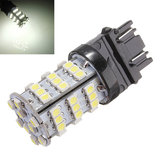 T25 3157 White 54 SMD 3528 LED Brake Stop Tail DRL Signal Bulb