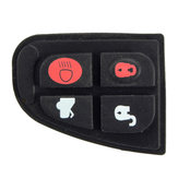Remote Key Fob Case DIY Repair Kit Rubber Pad Set For Jaguar X Type XF E S 4 BNT