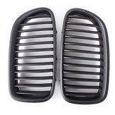 Preto fosco grades grelha frontal para bmw f10 5-série sedan 10-14