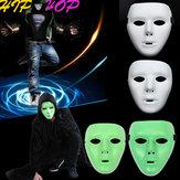 Jabbawockeez Maske Cadılar Bayramı Ghost Dance Hip-hop Performansları Maske'ler Parti Elbise Maske