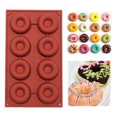 Fai da te Donuts stampo in silicone torta al cioccolato Cookies stampo di cottura che decora attrezzo