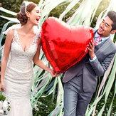 36 calowa folia aluminiowa Serce Balon Wesele Propozycja Miłość Balony Dekoracja