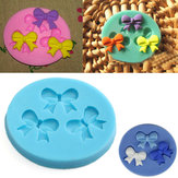Silicone 3D Bowknot Fondant Mould Cake Decoration DIY Mould Mould