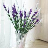 5 kolorów 38 cm Sztuczna lawenda symulacja Lavender Silk Flower Home Wedding Decor