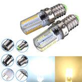 عكس الضوء E14 3W أبيض / دافئ أبيض 3014SMD ليد بصيلة سيليكون 220-240V