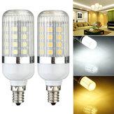 E12 dimmable 4.5W 36 SMD 5050 LED milho lâmpada de luz lâmpada 110v