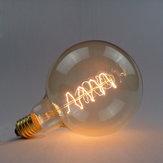G125 e27 40w 220v fil d'enveloppement ampoule à incandescence ampoule rétro Edison