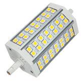 R7S LED لمبة 10 وات 118 مم أبيض دافئ أس 85-265 فولت 42 سمد 5050 ذرة ضوء