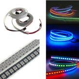 1M 43.2W WS2812B 5050 RGB Chống nước IP67 Dải đèn LED Thay đổi màu ánh sáng Cá nhân Địa chỉ DC5V