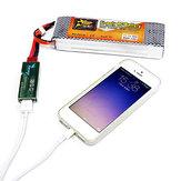 RC модели аккумулятор usb зарядное устройство для мобильного телефона Портативный бесплатно