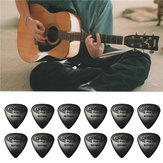 12PCS Celluloid Guitar Picks Plectrums 0.71mm Voor Gitaar Bass
