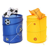 Foldable Laundry Basket Clothes Storage Bag Bath Hamper Sundries Bin