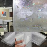 3D UV Absorber Frosted Bathroom Kitchen Window Stickers