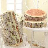3D Yenilik kütük Log Ahşap atın Yastık Çınar Ağaç Yastık Ev Ofisi Araba Yumuşak Dekorasyon