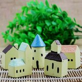 DIY Eco Bottle Decorations Resin House Castle Garden Micro Landscape