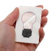 5 stuks draagbare LED-kaart licht zaklamp handtas portefeuille noodlicht