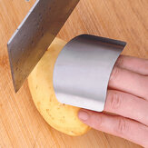 Stainless Steel Finger Guard Safe Protector Chop Helper