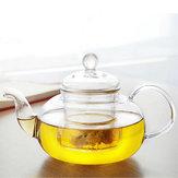 350ML-1000ML Szkło odporne na ciepło Czajnik z zaparzaczem kawy liści herbaty