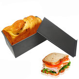 Prostokąt Non-stick Toast Box Kitchen Pastry Bread Baking Pan Bakeware