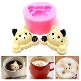 3D Silicone Cute Cat Head Shape Cake Mold Mould Fondant Decoration Tool