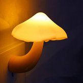 Mini Mushroom Wall Night Light Light Control Bedroom Lamp