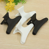 4PCS Black White Butterfly Hair Clamps Claw Hairdressing Accessories