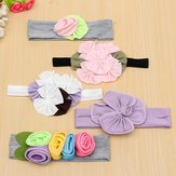 Adorable Baby Girls Kids Flower Headband Hair Band Accessory
