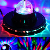 8W Rotating LED Club Disco Party Crystal Magic Ball Stage Effect Light
