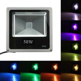 50W RGB LED Flood Light With Remote Control Outdoor Wash Garden Lamp