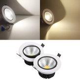 15w dimmable cob LED recesso teto luminária para baixo kit de luz