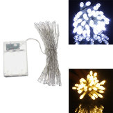 AA Battery Mini 40 LEDs Cool/Warm White Christmas String Fairy Lights