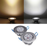 4w luminoso LED da incasso a soffitto giù 85-265V + autista