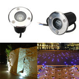 1W LED Wodoodporna Outdoor In Ground Garden Path Flood Landscape Light