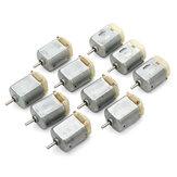 10Pcs 3V-6V 8000RPM Micro تيار منتظم 130 Motor