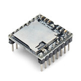 Geekcreit® DFPlayer Mini MP3 Player Module MP3 Voice Audio Decoder Board For Arduino Supporting TF Card U-Disk IO/Serial Port/AD