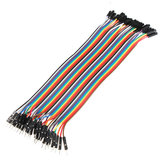 40pcs 20cm Male To Female Jumper Cable Dupont Wire For Arduino
