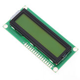1Pc 1602 Character LCD Display Module Yellow Backlight Geekcreit for Arduino - products that work with official Arduino boards
