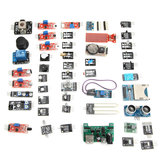 Geekcreit 45 In 1 Sensor Module Board Starter Kits Carton Box Package Geekcreit for Arduino - products that work with official Arduino boards