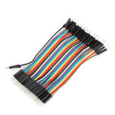 40pcs 10cm Male To Male Jumper Kabel Dupont Wire