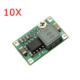 10Pcs Mini DC Adjustable Power Supply Buck Module Step Down Module