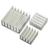 15pcs de calor de alumínio adesiva afundar kit cooler para refrigeração Raspberry Pi