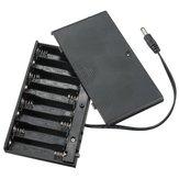 DIY 12V 8 x AA Batterie Holder Box Case mit Kabelschalter