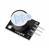 5Pcs Black KY-012 Buzzer Alarm Module Geekcreit for Arduino - products that work with official Arduino boards