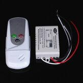 AC110V sem fio 1 canal on / off luz lâmpada interruptor de controle remoto