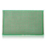 5pcs 90 * 150mm fr-4 de doble cara PCB prototipo de placa de circuito impreso