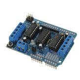 5Pcs Мотор Driver Shield L293D Модуль Duemilanove Mega UNO Geekcreit для Arduino - продукты, которые работают с официальными платами Arduino