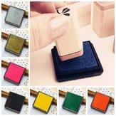 DIY Cube Kauçuk Sünger Mürekkep Pedi Stamp Fotoğraf Albümü Fotoğraf Albümü