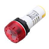 AD58B-22SM LED Indicator Signal Light Flash Intermittent Sound Buzzer