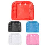 Miękka guma silikonowa Gel Bumper Skin Cover dla Nintendo 2DS